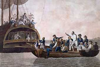 Painting of The Bounty